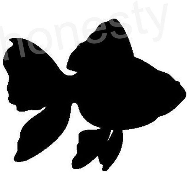 Pesce rosso pesce piccola carpa silhouette del computer for Carpa pesce rosso
