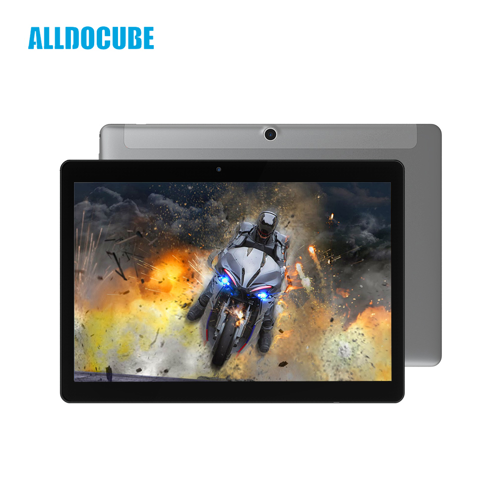 ALLDOCUBE 9.6 Inch Ultra-thin 1280*800 IPS Full View Android 7.1 4G Phone Call Tablet PC MTK6737 Quad Core 2GB 32GB Cube Phablet yuntab 4g phablet h8 android 6 0 tablet pc quad core touch screen 1280 800 with dual camera and dual sim slots black