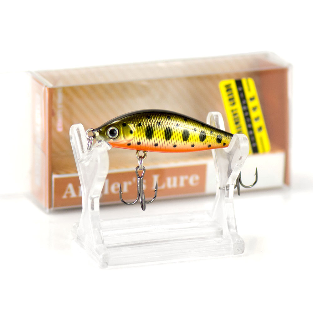 45mm 3.1g Hard Lures, Sinking Minnow,  Wobblers, Angler Lure for Fishing, Countbass Fish Baits