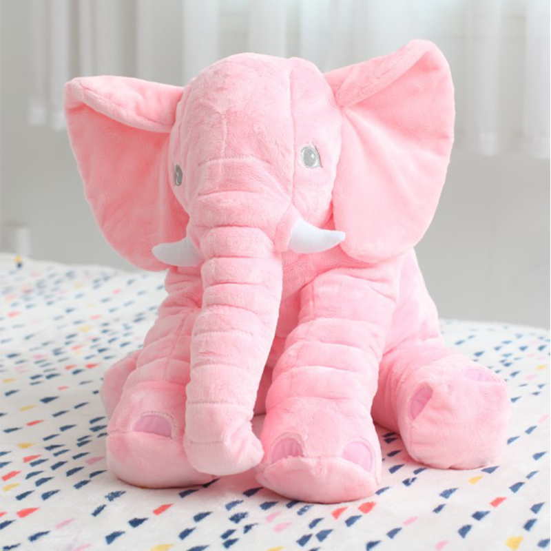 2018 Wholesale Price Old Customer 5Color Elephant Soft Automotive Baby Sleep Pillow Baby Crib Foldable Baby Bed Car Seat Cushion