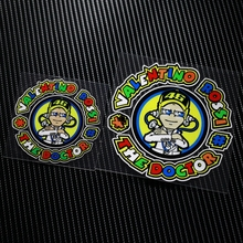 NO TL009 Waterproof Valentino Rossi The doctor 46 MOTO GP Reflective Auto Sticker Decals Motorcycle Racing