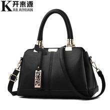 купить KLY 100% Genuine leather Women handbags 2019 New tide female bag Crossbody Bag shaped sweet lady Shoulder Handbag по цене 1557.94 рублей
