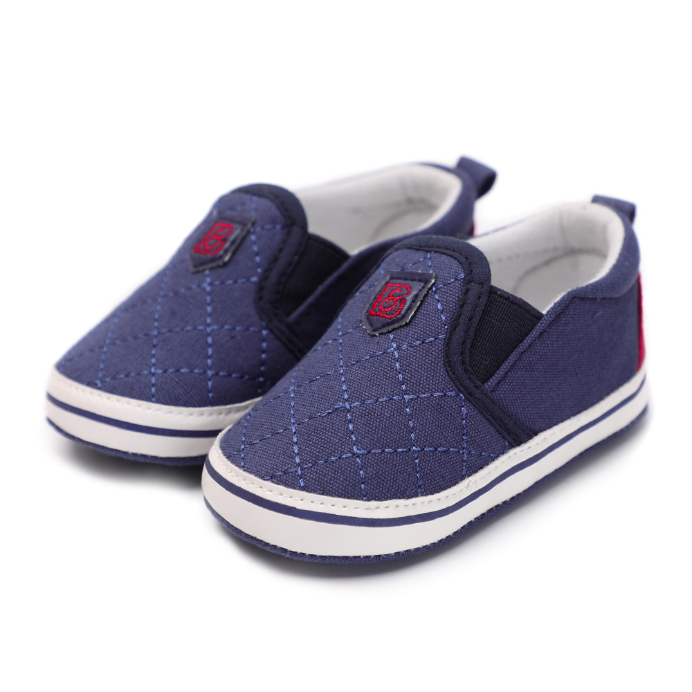 Fashion Newborn Soft Sole Baby Shoes Shallow Canvas shoes ...