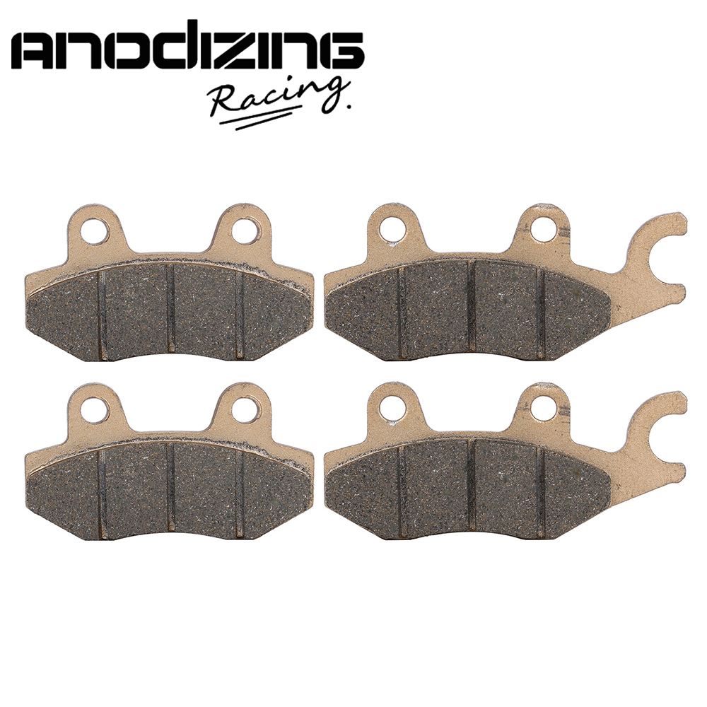 Motorcycle Front and Rear Brake Pads For KAWASAKI  EX250R Ninja250R 2008 - 2012  motorcycle front