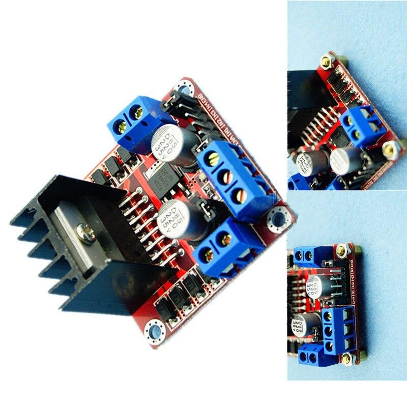 Stepper Motor Drive Controller Board Module L298N Dual H Bridge P00