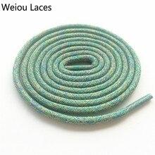 Официальные Weiou Flyknit многоцветные шнурки для бега 0,45 см спортивные разноцветные шнурки для баскетбола беговые кроссовки