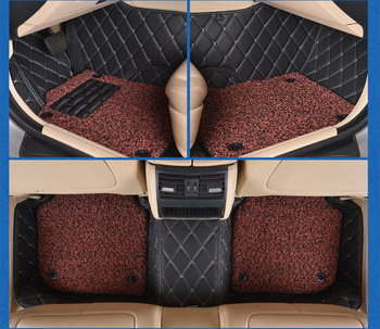 Myfmat custom foot leather car floor mats for Chrysler Sebring 300C PT Cruiser Grand Voyager free shipping hot sale trendy cozy