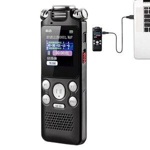 Image 5 - เครื่องบันทึกเสียง MINI Lossless สีเปิดใช้งานลดเสียงรบกวน 2 Way ไมโครโฟน Multifunctional MP3 USB ชาร์จ