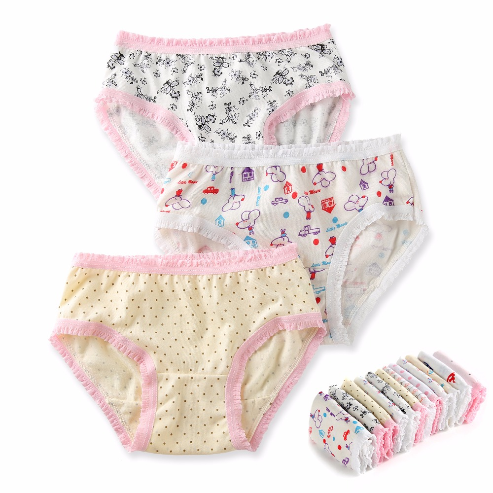 142e335d9adb 12 Pack Organic Cotton Children Underwear High Quality Kids Girls Briefs  Shorts Panties for Baby Clothes Underpants 2 8 y-in Panties from Mother &  Kids on ...
