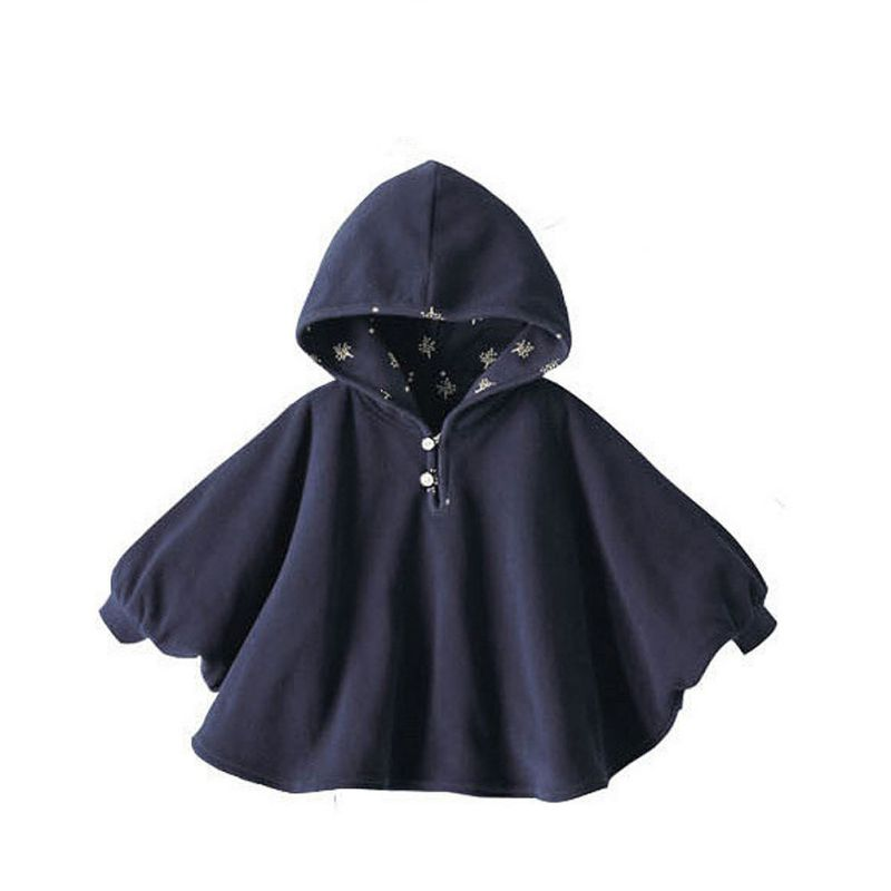 2017 Fashion Baby Boys Girls Cute Smocks Outwear Fleece Cloak Jumpers Mantle Childrens Clothing Poncho Cape Coats