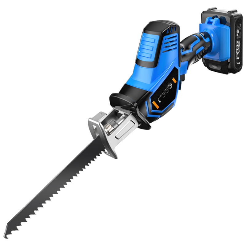 Mini Chainsaw Outdoor Portable Logging Saw Lithium Reciprocating Saw Rechargeable Electric Knife Saw Household 12V 21V