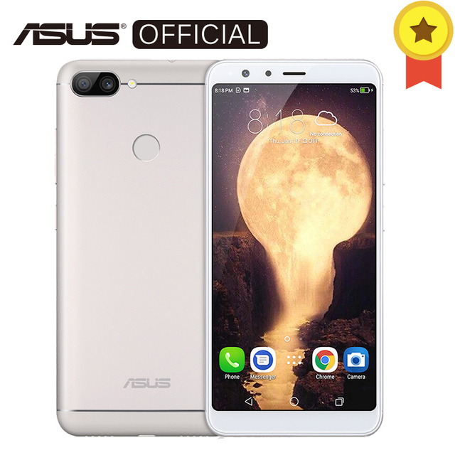 Asus Zenfone Peg asus 4S Max плюс (M1) X018DC ZB570TL 5,7 дюймов 18:9 полный Экран 4 ГБ 64 ГБ Восьмиядерный Android7.0 4130 мАч телефон