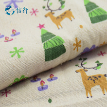 50*150cm Printed Cotton Linen Fabric For Patchwork Quilting Sewing DIY Sofa Table Cloth Furniture Cover Cushion Fabric#3438