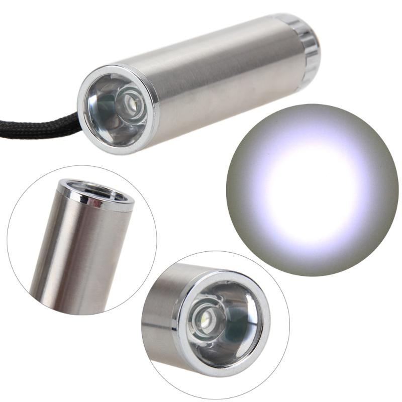 Mini Portable1000LM Q5 LED Keychain Flashlight Camping Cycling Torch Lighting By AAA batter