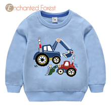 Baby girl clothes Spring girl cotton cartoon Active Long sleeve Sweatshirts kids clothes for girls sweatshirt for boy Unisex