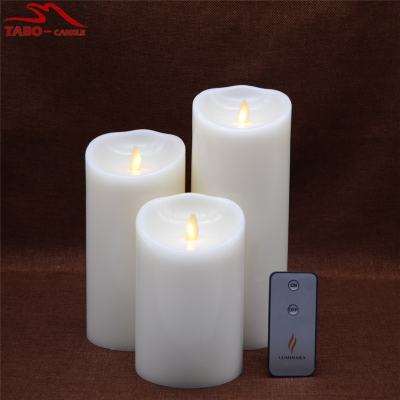 Real Wax Led Swing Flame Christmas Candle Lights For Sale