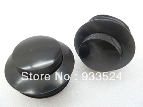 Motorcycle Accessories Parts 1 Pair Black Gas Fuel Tank Flush POP UP Cap For Harley Sportster Softail Dyna Glide 1982 & up