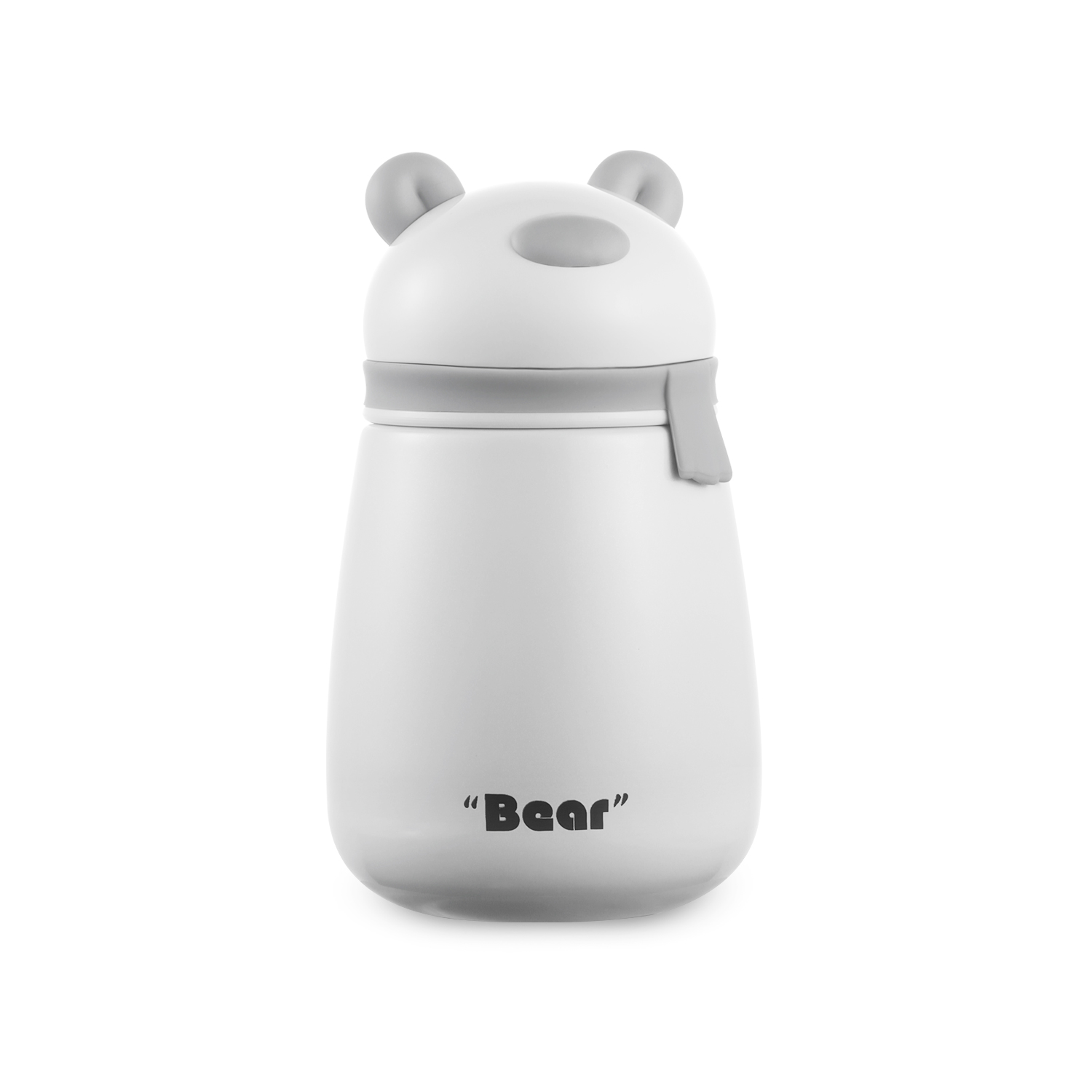 270ml Bear Vacuum Insulated Double Walled Thermal Travel Mug Leak Proof & BPA Free Portable Vacuum Flasks & Thermoses Thermocup