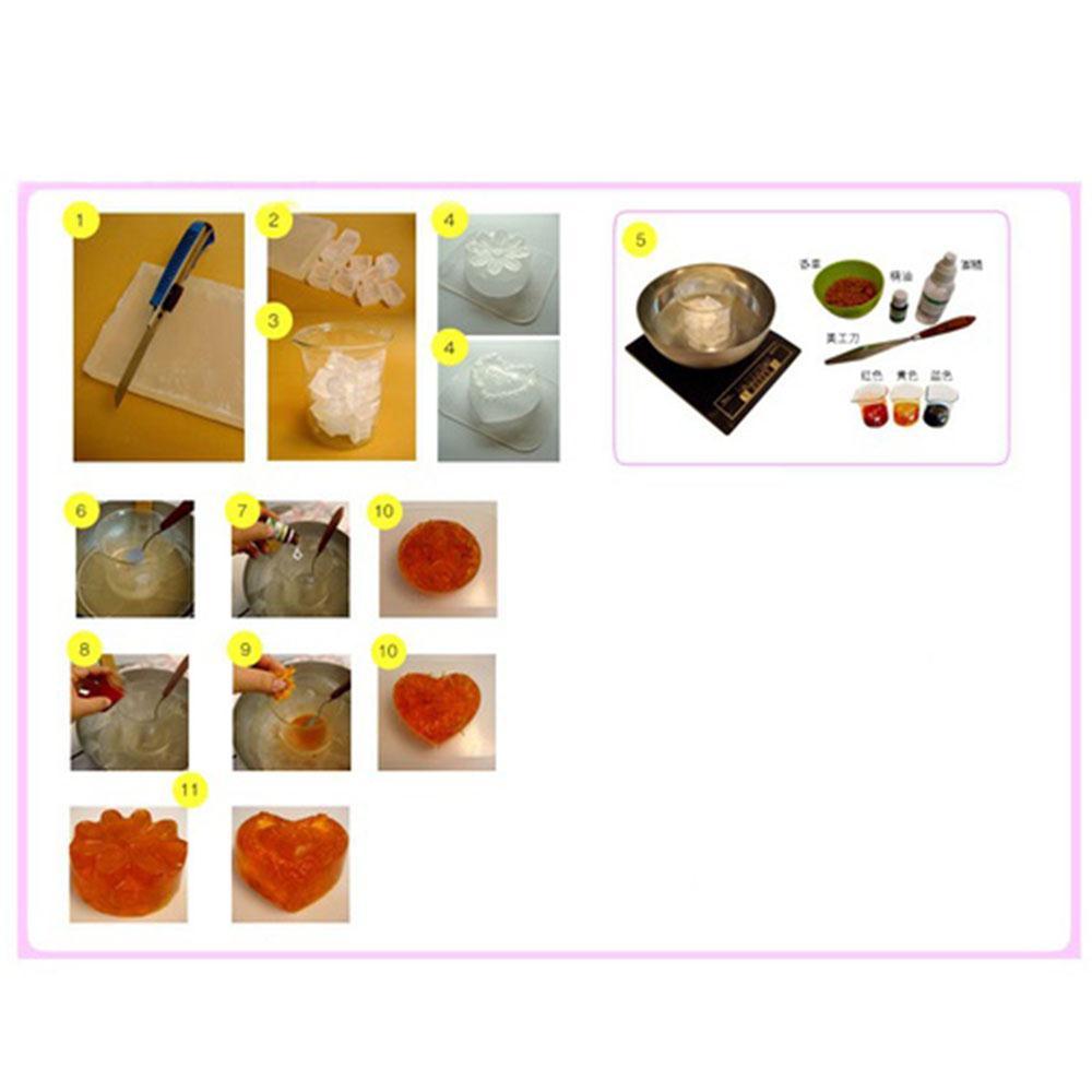 100g Handmade Soap Base Saft Raw Materials Soap Making Base Hand Making Soap Bath Dorpshipping