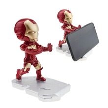 Супер герой Мститель Железный человек держатель мобильного телефона настольная подставка для iPhone Xiaomi samsung huawei мультфильм смарт-телефон стенд держатель