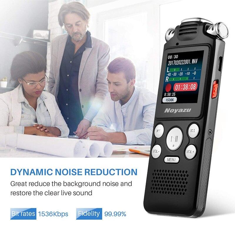 NOYAZU V59 8 GB Audio Geluid Digitale Voice Recorder Draagbare - Draagbare audio en video - Foto 4