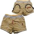 3619 niños pantalones cortos de verano pantalones casuales bebé pantalones cortos pantalones de los muchachos de los niños ropa de Color Caqui niños COOL FASHION NUEVA