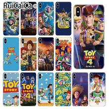 Ruicaica Toy Story4 Новинка чехол для телефона Fundas чехол для iPhone 5 5Sx 6 7 7 plus 8 8 Plus X XS MAX XR(China)