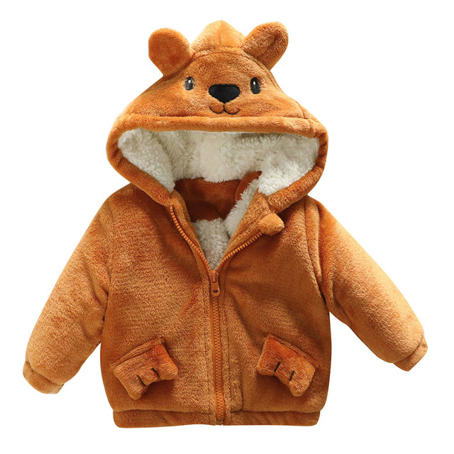 Personaggio dei cartoni animati del modello del bambino cappotti