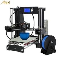 2017 Hot Sale Easy Assemble Reprap Prusa I3 3D Printer Kit DIY Anet A6 Auto Leveling