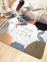 Big carpet cute children crawling mats cartoon animal bedroom living room soft 150CM 200CM floor mat