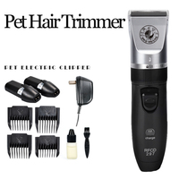 New Rechargeable Electric Pet Hair Trimmer Dog Grooming Clippers Professional Haircut Machine For Dogs Cats Animals Shaver Razor