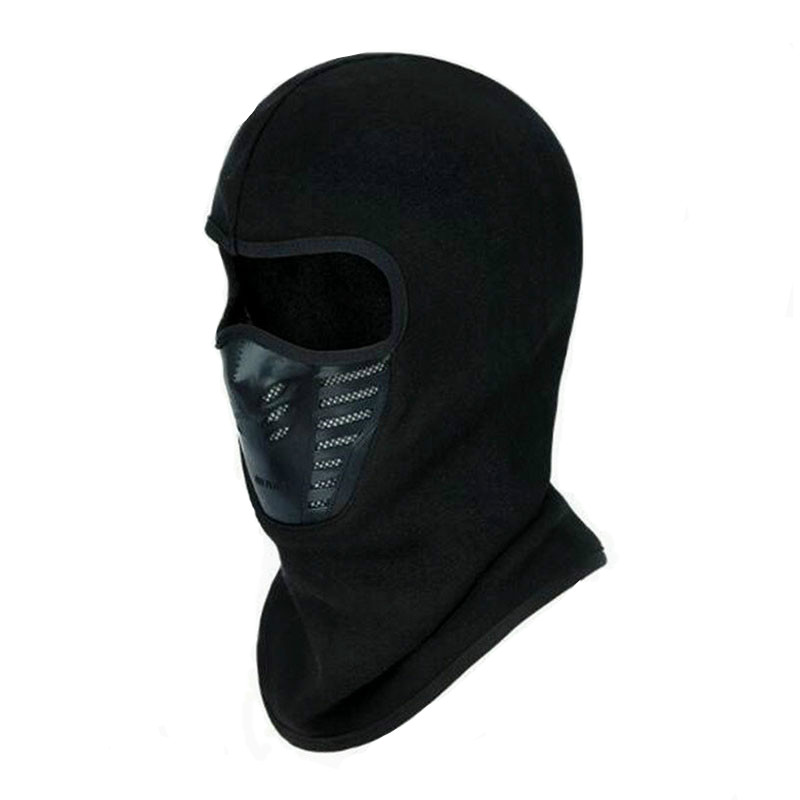 2018 Winter Warmer Cycling Face Mask Windproof Dust-proof Fleece Bike Full Face Scarf Mask Neck Bicycle Snowboard Ski Mask summer dust proof sunscreen neck mask female outdoor riding mask