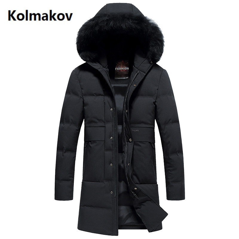 2017 New Arrival fashion coats Mens Hooded keep warm long thicken 90% White duck down Down Coats jacket Mens Winter jackets