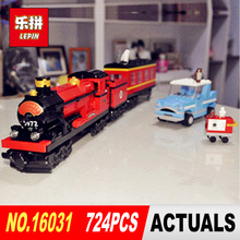 Lepin 16031 724Pcs Movie Series Hogwarts Express Train Classic Set Building Blocks Bricks Model toy for children Christmas Gifts