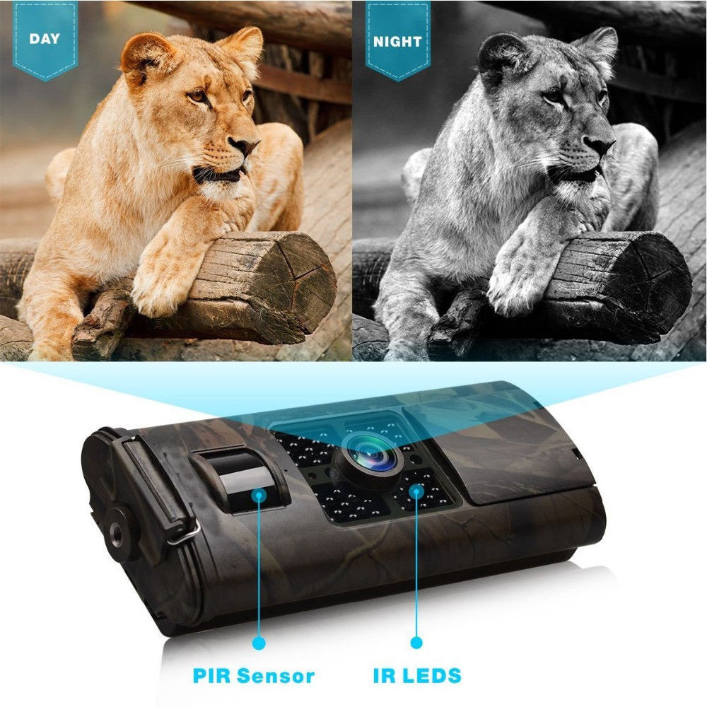 Suntek HC700A caméra sauvage Chasse HD 16MP 940nm caméra de Chasse à Vision nocturne 1080 P caméra de suivi d'animaux sauvages piège Photo - 3