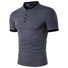 Zagaa New 2019 Polo Men's Shirt Cotton Short Sleeve Shirt Casual Shirts Summer Breathable Solid Male Polo Shirt Plus Size S-3XL(China)