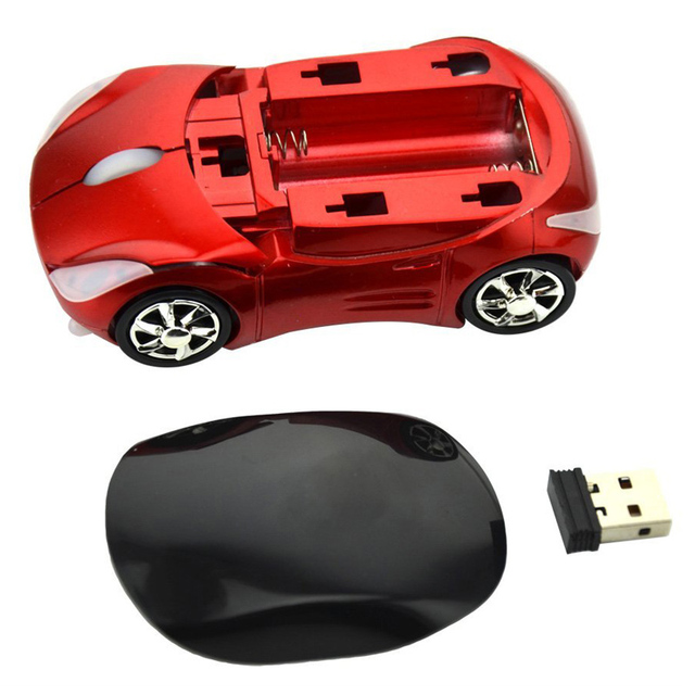 Wireless Mouse Car Shaped 1