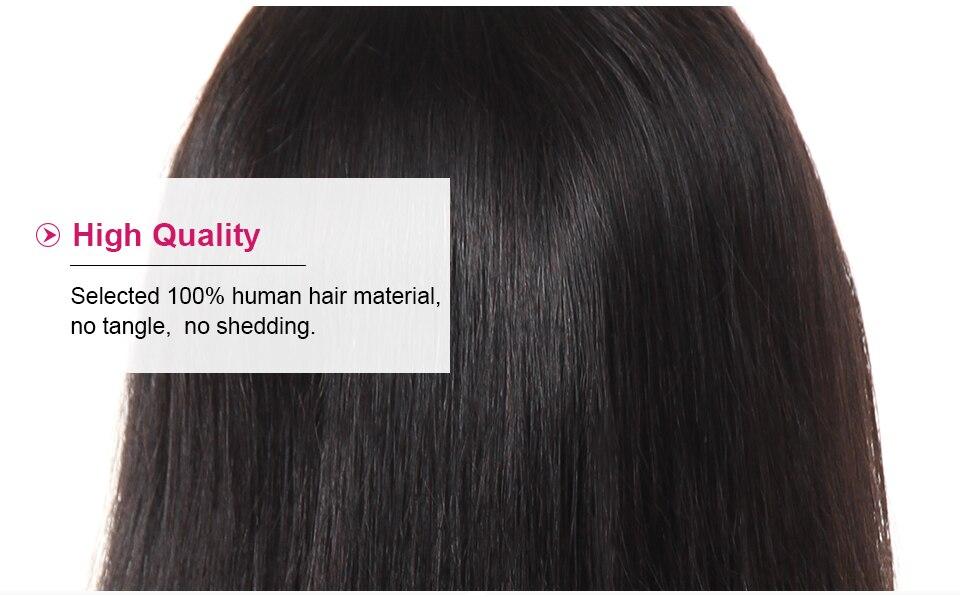 Ishow Brazilian Straight Human Hair Wigs (6)