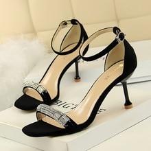 fashion summer banquet high heels pumps women shoes sandals ladies mary jane shoes Peep Toe luxury shoes women zapatos de mujer недорого