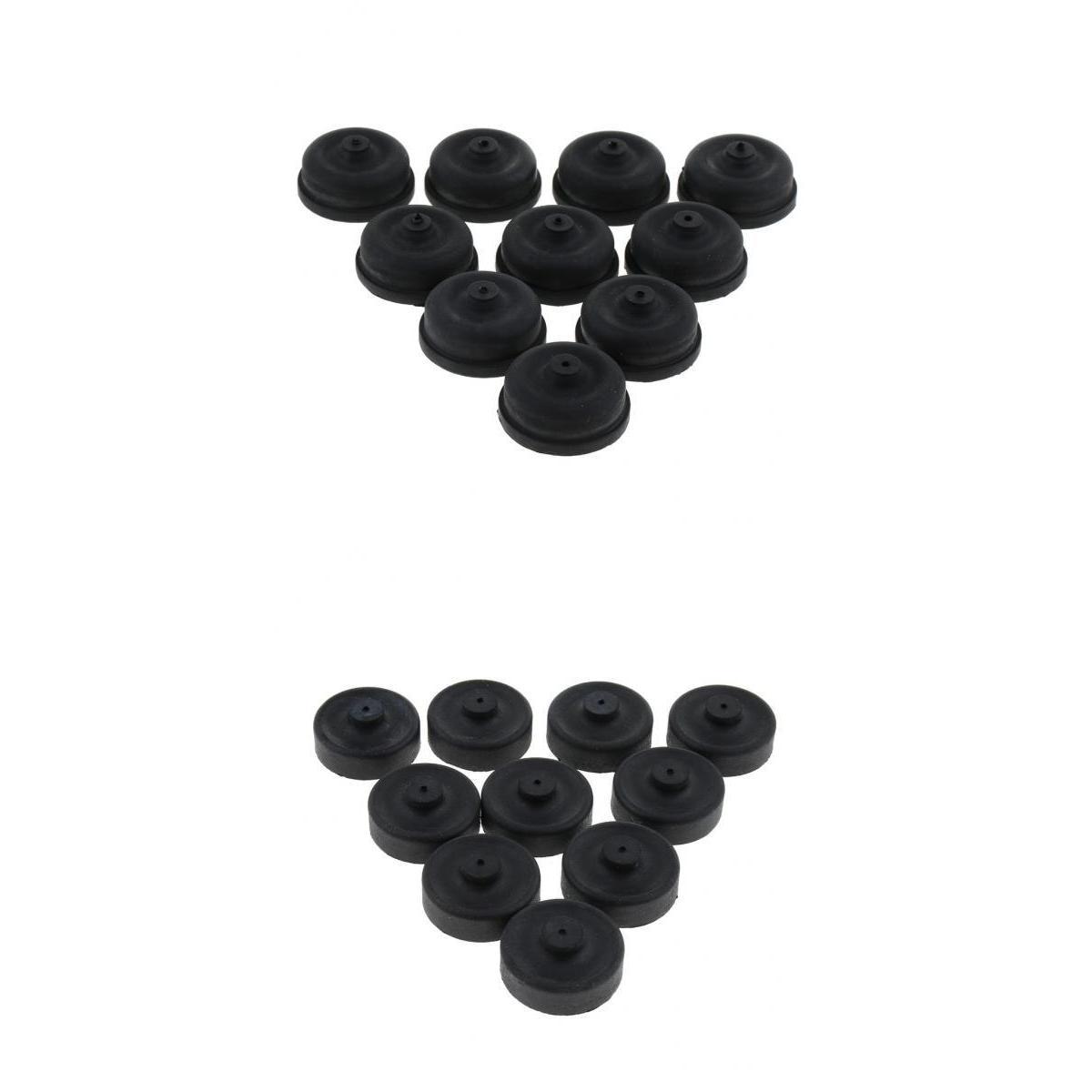 Piezas de taza de goma 20 piezas, bomba de aire de diafragma para reemplazo de bomba de pesca de acuario Filtros antipolvo Hepa + 5 uds. De bolsas de papel para aspiradoras Karcher, Cartucho de repuestos para aspiradoras, filtro HEPA A2204 VC6100 A2004 WD3.200 VC6200 1 Uds.