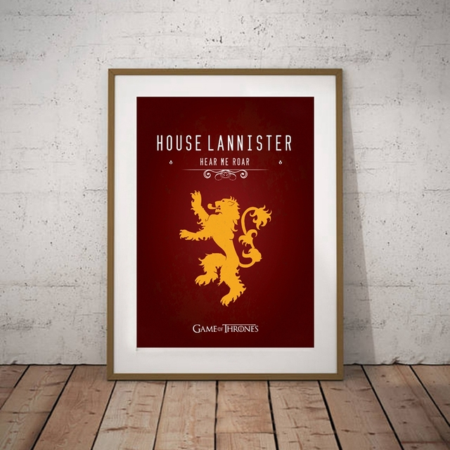 """""""Game of Thrones"""" Wall Art Canvas  3"""