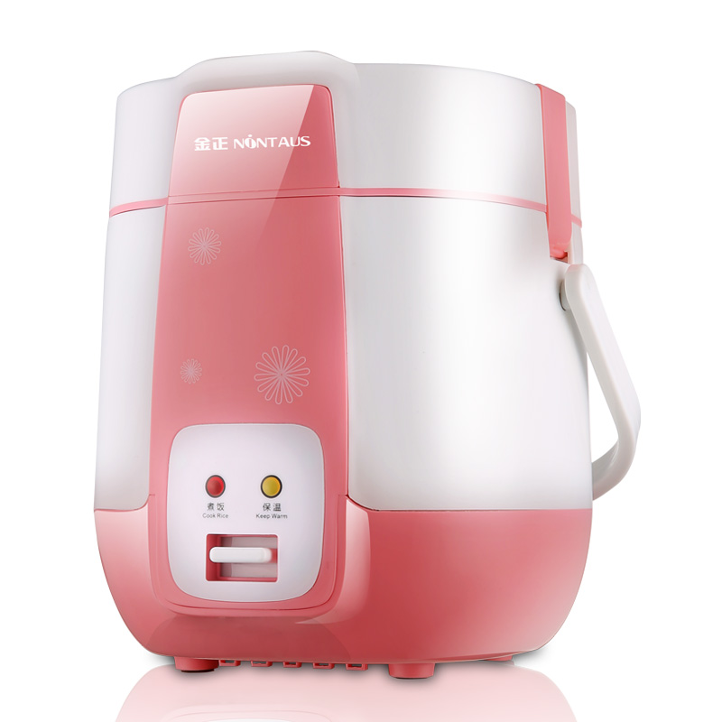 Mini Electric Rice Cooker 1.2L 220V Small Student Electric Rice Maker Machine 1-2 People Small Rice Cooker Mini Steamer Boiler 110v 220v dual voltage travel cooker portable mini electric rice cooking machine hotel student multi stainless steel cookers