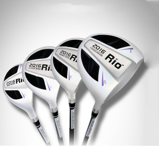 Pgm Rio Mg002 Golf Drivers Fairway Woods Hybrids Clubs Anium Alloy Club Head And Graphite Shaft For Women