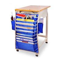 Ayarlanabilir Masa Kitap Organizatör Çantası Masası Genişliği Için Faydalı Kitaplar Saklama Çantası Verimli Okul Bookend Raf