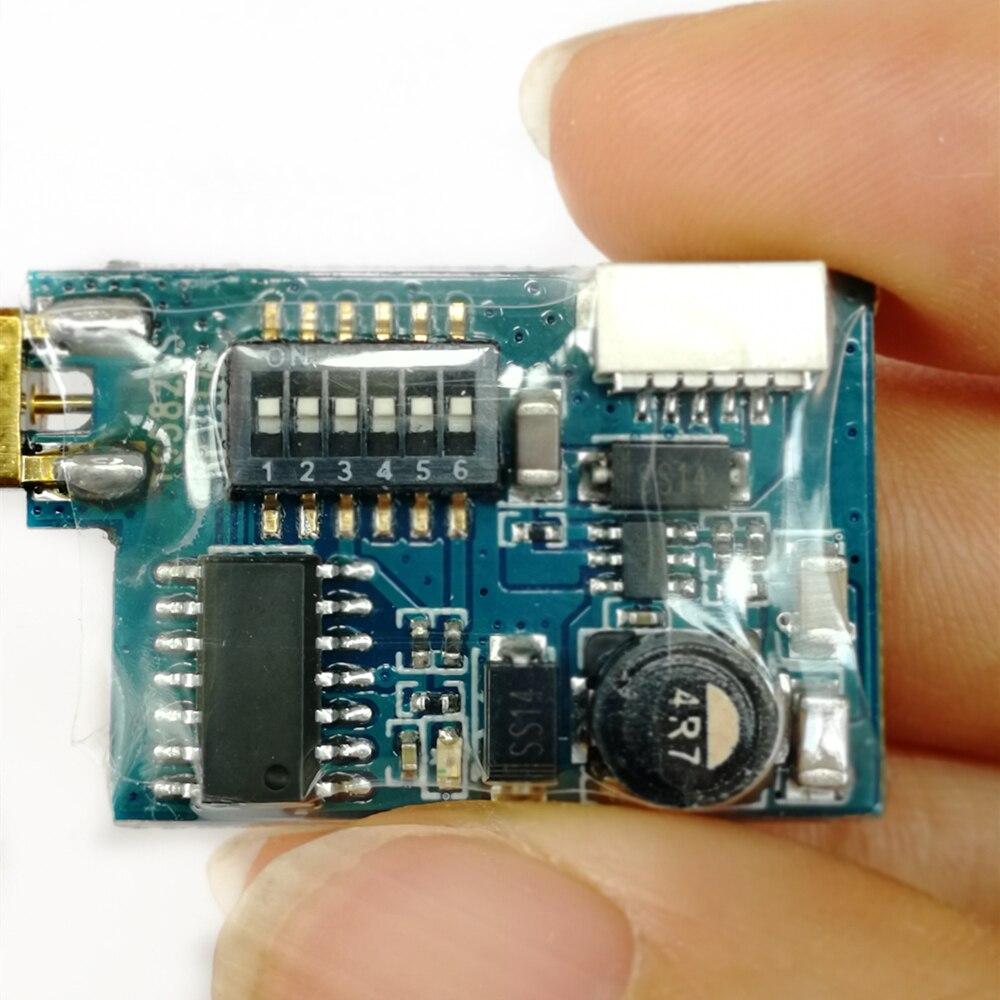 5,8G 40CH 200mW TS5823S Мини AV беспроводной передатчик для FPV RC Дрон