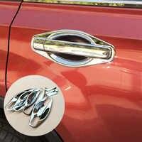 Ajustement pour Nissan X-TRAIL XTRAIL T31 lunette 2008 2009 2010 2011 2012 2013 garnitures chromées tasse Insert porte poignée bol couvercle garniture