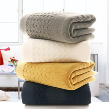 New Mesh Hole Breathable Absorbent Bath Towels Set 100% Cotton Thicken Plain Towels Bath Towel High Quality Soft Antibacterial цена