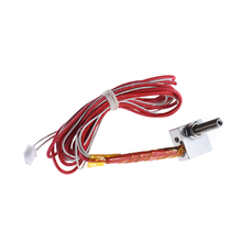 DIY Hot End Kit Nozzle M6 Extruder Throat Heater Thermistor Aluminum Heater Block for Anet A2 A6 A8 3D Printer