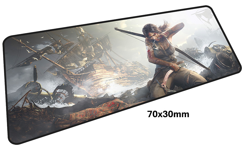 tomb raider mouse pad gamer 700x300mm notbook mouse mat large gaming mousepad large Halloween Gift pad mouse PC desk padmouse