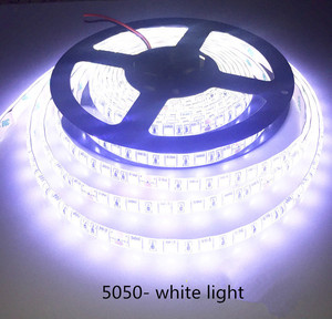 Image 3 - LED 5M 5050 SMD patch Strip Light project preferred DC 12V/24V White/Warm white/Red/Green/Blue IP20/IP65/IP67 (Waterproof)